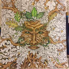 #mythomorphia #kerbyrosanes #coloringbook #inktense #wip this is such a cool motive