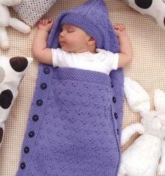 Sleeping bag for newborn Pattern free