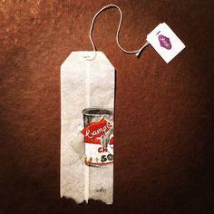 Painting on Tea Bags – Fubiz Media