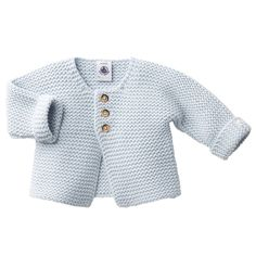 Petit Bateau Baby Cardigan Baby Blue – The Girls @ Los Altos