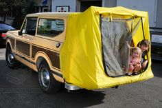 Tailgate Camping Tent for all Scouts - replica of original accessory tent offered by International.