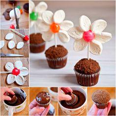 Flower Pot Mini Muffins!