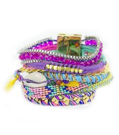 §Hipanema Cannes bracelet by Aspiga.  Love the colours of this bracelet x