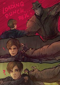 Resident Evil World: Photo Tyrant Resident Evil, Resident Evil Anime, Outlast Horror Game, Leon S Kennedy, Couples Cosplay, Ship Drawing, Evil World, The Evil Within, Short Comics
