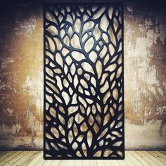 sweet organic CNC'd screen divider from tinygiant.house