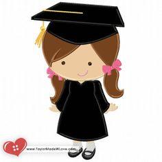 Graduation Girl Applique Digital Design File by TaylorMadeWLove Graduation Cartoon, Graduation Clip Art, Graduation Images, Graduation Desserts, Graduation Crafts, Graduation Cookies, Kindergarten Graduation, Graduation Ideas, Graduation Scrapbook