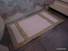 Susan being Snippy: Up-Cycle More Towels - a Bath Mat Tutorial