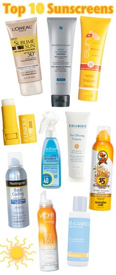 Top 10 Sunscreens to Protect YourSkin. - Home - Beautiful Makeup Search: Beauty Blog, Makeup & Skin Care Reviews, Beauty Tips