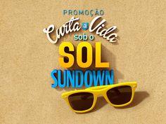 Promoção Sundown by Andre Alcantara, via Behance