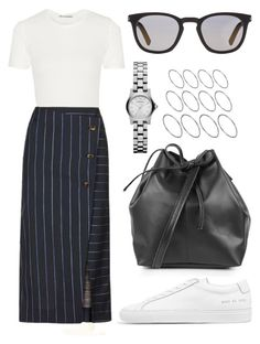 """Untitled #1392"" by taelorperkins ❤ liked on Polyvore featuring Acne Studios, Topshop, Common Projects, Yves Saint Laurent and ASOS"