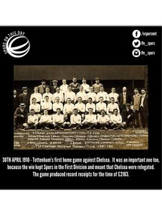 Spurs On This Day: 30th April  #COYS #HOTSPURHISTORY #THFC
