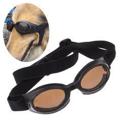 Enjoying Dog Black UV Eyewear Protection Goggles Stylish Sunglasses For Medium Dog *** Find out more at the image link. Uv Sunglasses, Stylish Sunglasses, Sunglasses Accessories, Hair Accessories, Dog Itching, Dog Dental Care, Dog Diapers, Dog Eyes, Dog Hoodie