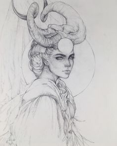 TBT – I'm going through and collecting all my pencil and traditional drawings fr… - Art Sketches Demon Drawings, Art Drawings, Fantasy Drawings, Tattoo Drawings, Tattoos, Arte Sketchbook, Sketchbook Project, Arte Obscura, Traditional Art