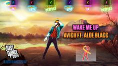 Wake Me Up by Avicii featuring Aloe Blacc is available for purchase and download on Just Dance 2014!