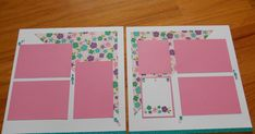 There will be 5 layouts made from the Close to My Heart Make Waves paper packet. I have added card stock to the paper packet and I have ba...