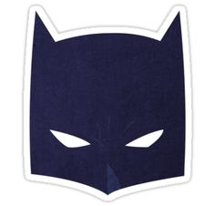 """Batman Cowl! "" Stickers by Timothy Alford 