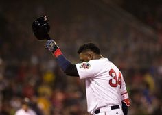 David Ortiz just played his final regular season game as a Boston Red Sox. He is a legend. Always stepped up to the challenge. He will have number 34 retired