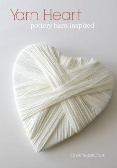 Pottery-Barn-Inspired-Yarn Heart