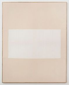 Ethan Cook, Untitled, 2013, Hand woven cotton canvas and canvas in artist's…