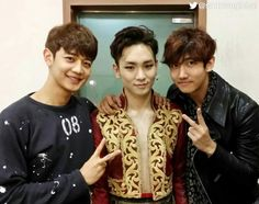 TVXQ's Max, SHINee's Minho and Key at the musical 'Zorro'.