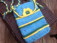 Plarn - unique crossbody bag by Mywaycrochet on Etsy