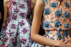 details Mary Katrantzou - spring 2014