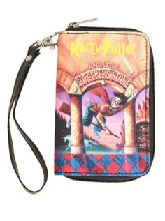 Harry Potter And The Sorcerer's Stone Book Wallet