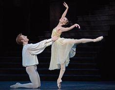 "Evgenia Obraztsova and Steven McRae in ""Romeo and Juliet"" # Photographer Dave…"