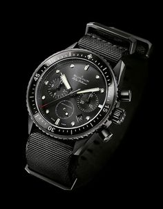 Blancpain Fifty Fathoms Bathyscaphe Flyback Chrono - $17,200 angle