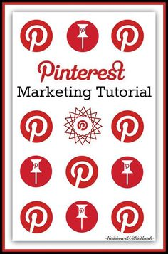 Pinterest Marketing Tutorial at RainbowsWithinReach -  many excellent ways to use Pinterest to promote your and others' hard work!