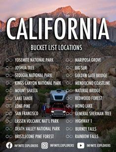 Sequoia National Park, National Parks, General Sherman Tree, Burney Falls, Bristlecone Pine, Mount Shasta, Rainbow Falls, Death Valley National Park, Redwood Forest