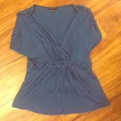 Banana republic braided waist top Stretchy enough to accommodate a large If you don't have a big bust Banana Republic Tops Tees - Short Sleeve