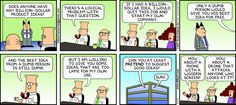 Billion Dollar ideas - The Dilbert Strip for May 4, 2014