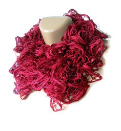 SALE maroon scarfwomen scarf2013 new trendsfashion by seno on Etsy, $25.00
