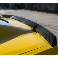 C7 Corvette TruFiber Carbon Fiber Rear Spoiler our new C7 Corvette is your pride and joy so why not upgrade to real carbon fiber products like this rear spoiler. Each product contains a variety of features that give your vehicle a true advantage when facing any competitor both in the show or on the track. Each product is an exact fit to your model and body style by year and installs easily and securely using OEM hardware and manufacturer accessories.