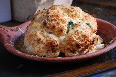 Whole Roasted Cauliflower With Yogurt And Herbs » Israeli Kitchen