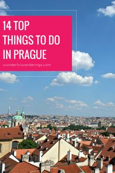 Looking for things to do in Prague, Czech Republic? This list has a ton of tips with must-sees like the Prague Castle and the Old Town Square, but also some lesser known sites. Click here to read more or pin and save for later.