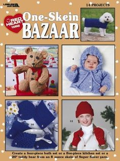 One Skein Bazaar - Crochet Patterns LEISURE ARTS http://www.amazon.com/dp/B0036ZYJMG/ref=cm_sw_r_pi_dp_uTALvb0PN0AW8
