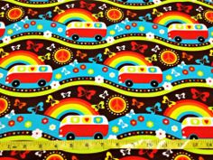 Hippie Day - by Lillestoff - Organic Cotton Knit 95% organic cotton, 5% spandex GOTS certified ---Reserved---