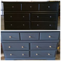 Amy Howard One Step Chalk Paint- lady singing the blues & knows from Hobby Lobby. DIY