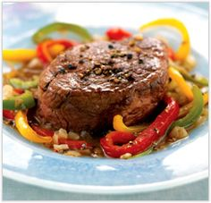 """I tried this recipe when I was counting calories. Don't let the """"South Beath"""" part scare you. The sauce that you make to go on the steak is absolutely unbelievable!"""