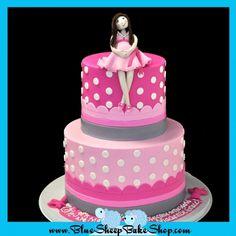 Pregnant Mommy Baby Shower Cake