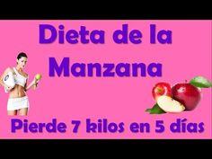 Dieta de la manzana para bajar de peso 7 kilos en 5 dias funciona!!! - YouTube Diy And Crafts, Youtube, Lose 15 Pounds, Health And Beauty, Favorite Recipes, It Works, Get Skinny, Food, Youtubers