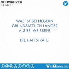 Schwarzer Humor Witze Sprüche #14 - Langes Ding bei Schwarzen