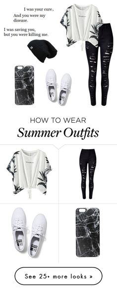 """Outfit #135"" by madi463 on Polyvore featuring Keds, Casetify, women's clothing, women, female, woman, misses and juniors"