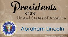 Abraham Lincoln Facts and 3 free Worksheets for 1st-3rd graders- Mama's Learning Corner @MamaLearning