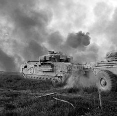 Churchill Crocodile flamethrower tank supporting infantry of New Zealand Division during the assault across the River Senio, Italy 9 April Pin by old Paolo Poop Stain Marzioli Churchill, Military Armor, Ww2 Tanks, Panzer, Armored Vehicles, War Machine, World War Ii, Military Vehicles, Wwii
