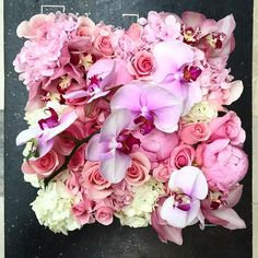 It's very exciting for a designer when we are asked to create beautiful things. Maison des Roses have the most amazing clients. And we count our blessings every day to wake up and do what we love. To our Maison munchkins! Xoxo #Valentina #peonyseason #pink #white #hydrangeas #roses #phalaenopsis #cymbidium #orchids #bloombox #tributes #love #wife #happymarriage #anniversary #maisondesroses