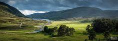 Loch Garry and the Surrounding Hillsides, Scotland