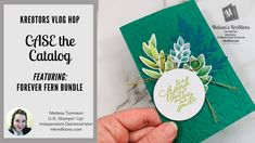The Kre8tors First VLOG Hop – Melissa's Kre8tions Circle Punch, Made Video, Book Design, Your Cards, Get Started, Thank You Cards, Stampin Up, Catalog, Make It Yourself